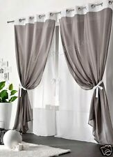 Modern Eyelet Top Door Window Curtain Net Voile Panel *16 Colours High quality!