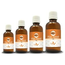 100% NATURAL FLAX SEED CARRIER OIL(Aromatherapy)choose from 15ML to 250ML