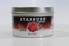 Nicotine Free Molasses STARBUZZ Tobacco Starbuzz 100g 2 packs Rose Hookah Flavor