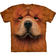 CHOW CHOW DOG T-Shirt by The Mountain Big Face Lover Tee S-3XL NEW