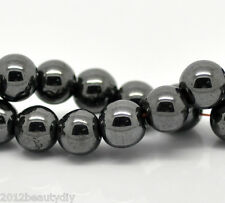 Wholesale Lots Black Hematite Beads 8mm