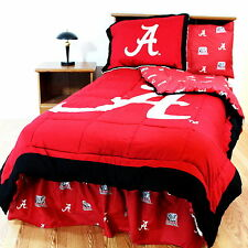 Alabama Crimson Tide Comforter Sham Bedskirt Valance Twin Full Queen King CC