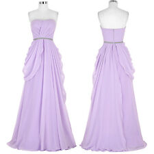 Strapless Evening Formal Party Cocktail Dress Bridesmaid Prom Gown Long Dresses