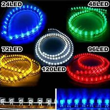 24cm 24 LED Flexible Strip Light Bulb Neon Waterproof PVC 12V for Car