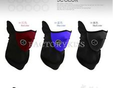 Neoprene Winter Neck Warm Face Mask Veil Shield Sports Motorcycle Ski Bike 7FS