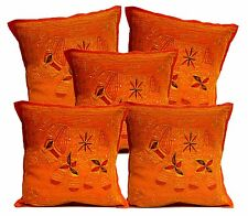 5pcs-100Pcs Ethnic Jari Embroidered Work Elephant Cushion Covers Wholesale Lot