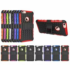 Hybrid Hard Rugged Kickstand Back Case Cover For iPhone 4s/5/5s/5c/6/6s Plus