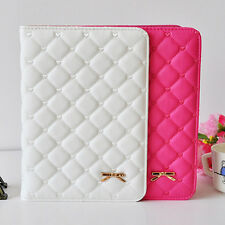 Faux Leather Smart Case Stand Cover for iPad 2 3 4 5 Air 2 Mini Stylish Gift