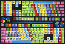 Country Kids Bedroom Area Fun Rug Play Time Keyboard Letters