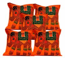 5pcs-100Pcs Patchwork Elephant Ethnic Cushion Covers Wholesale Lot From India