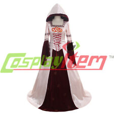 Vintage Medieval Gown Renaissance Maiden Dress Costume Halloween Costume Cosplay