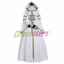 White Medieval Renaissance Baroque Dress Costume Wedding Dress Gown Costume