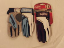 Rawlings Youth Small Workhorse 1050 Batting Gloves-Clolumbia Blue & Royal