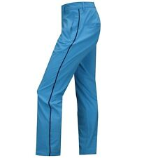 J.Lindeberg Gusten Narrow Micro Stretch Pants - Blue  - Brand New With Tags