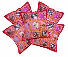 5pcs-100Pcs Ethnic Embroidered Sequin Patchwork Cushion Covers Wholesale Lot