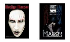 MARILYN MANSON - FACE / AMERICA - OFFICIAL TEXTILE POSTER FLAG