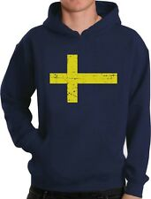 Sweden Flag Vintage Style Retro Swedish Hoodie Gift Idea