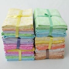 100% COTTON PLAIN PASTEL FABRIC EDITIONS FAT QUARTER QUILTING PATCHWORK BUNDLE