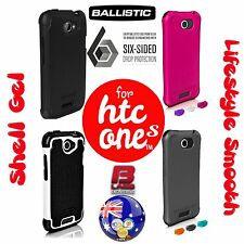 BALLISTIC DROP PROTECTION CASES for HTC ONE S -SG Shell Gel -LS Lifestyle Smooth
