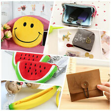 A wide range of Banana Sequined Coin Purse Wallet Bag Canvas Pocket 3