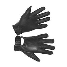 Hugger Fashion Men's Genuine Leather Motorcycle Gloves Police Driving/Riding