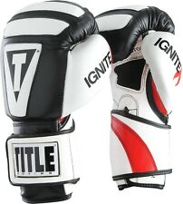 Title Boxing Infused Foam Ignite I-Tech Training Gloves Hook & Loop