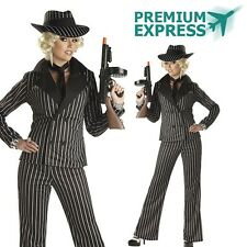 GANGSTER LADY 1920's MAFIA Licensed Women's Costume