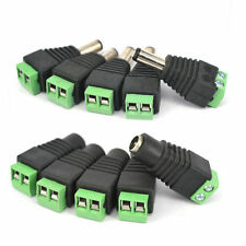 5pcs Power Supply Plug Fashion Connector Plugs for 5050 3528 LED Strip Light j