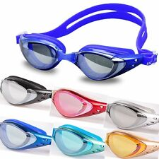Adult UV Protection Anti Fog Swimming Swim Goggle Glasses Adjustable Waterproof