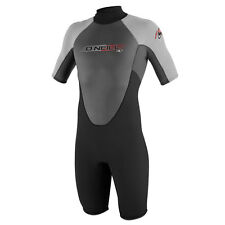 ONeill Reactor Spring 2mm Shorty Wetsuit Black/Gra Oneill Surfing Wetsuits