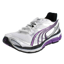 PUMA WOMENS COMPLETE VECTANA 3 RUNNING SHOES WHITE SILVER PURPLE BLACK 185777 01