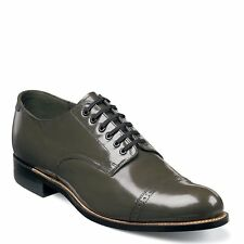 Stacy Adams Mens Olive Madison Cap Toe Dress Formal Oxford Trending Work Shoe