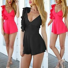 Women Lady Clubwear Summer Playsuit Bodycon Party Jumpsuit Romper Trousers S-XL