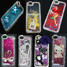 Pretty Dynamic Bling Diamond Liquid Star Quicksand Glitter Case Cover For Phone