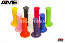 AME Full Waffle Grips Available In Various Colours Suit Vintage & Old School BMX