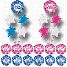 18TH 21ST 30TH 40TH 50TH 60TH PARTY SUPPLIES FOIL BALLOONS BOUQUET