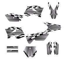 KTM SX 85 SX105 graphic kit 2006 2007 2008 2009 2010 2011 2012 #2500-GRAY METAL