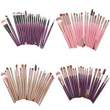20 Makeup Brush Set Cosmetic Foundation Blending Eyebrow Eyeliner Brushes Kabuki
