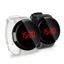 Special New Fashion Style Digital Touch Screen Silicone Strap Band LED Watch
