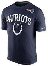Mens Nike Navy Blue Dri-Fit New England Patriots Football Legend Icon Tee NFL