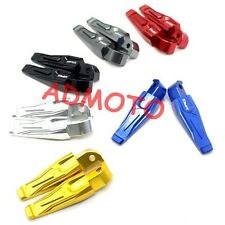 CNC Foot Pegs Rear Seat Foot Pedal For Yamaha TMAX530 TMAX500 MT-07 MT-09