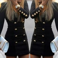 FOONEE Women Bandage Bodycon Long Sleeve Evening Sexy Party Cocktail Mini Dress