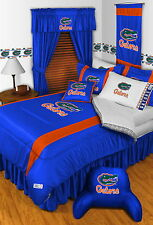 Florida Gators Comforter and Sheet Set Twin Full Queen King Size