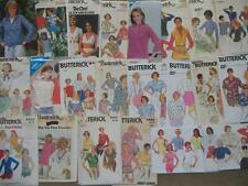 MISSES BUTTERICK BLOUSE SHIRT TOP PATTERN VARIETY SZ 6-20 YOU PICK