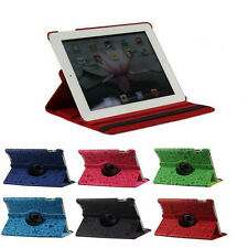 "360 Rotating Folio Stand PU Leather Case Cover For Apple iPad 9.7"" iPad 2 3 4 5"