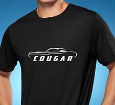 1969 1970 Mercury Cougar Classic Muscle Car Tshirt NEW FREE SHIPPING