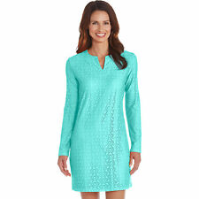 Coolibar UPF 50+ Women's Crochet Beach Tunic