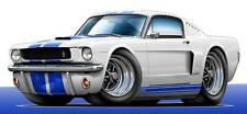 1965 1966 Shelby GT350 Mustang Muscle Car Art Print NEW
