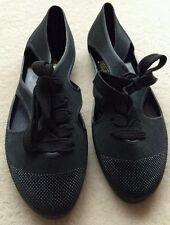 Toast - F-Troupe Synthetic Black Lace Up Sandals/bathing shoe (39) Brand new!