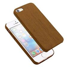 Ultra Thin Wood Grain Pattern Soft PU Case Cover Skin Protector for iPhone 5/5s